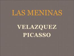 Comparació Velazquez/Picasso