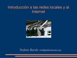 Introducción a las redes locales y al Internet