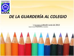 P.P de escolarización 2013