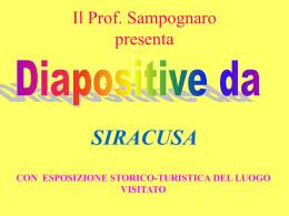 GIRO TURISTICO DI SIRACUSA (con diapositive
