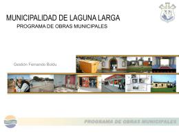 Presentación de PowerPoint - Municipalidad de Laguna Larga
