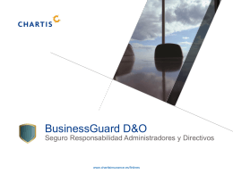BusinessGuard D&O - Avales y Fianzas