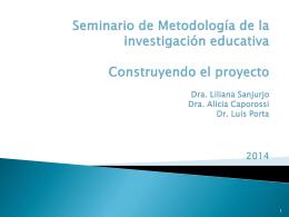 Seminario de Metodología de investigación