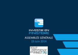 AG 2014 - Investir en Finistère