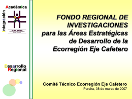 Convocatoria Fondo Regional de Investigaciones de la Red Alma
