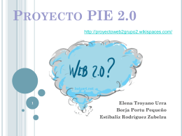 Proyecto PIE 2 - proyectoweb2grupo2