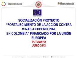 Putumayo - Dirección para la Acción Integral contra Minas