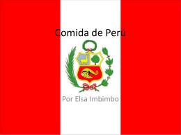 Comida de Perú - 4-honores
