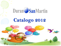Catalogo Infantil