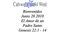 Genesis 22:5 – 10 (NASB)