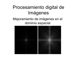 Mejoramiento de la imagen en el dominio espacial v004