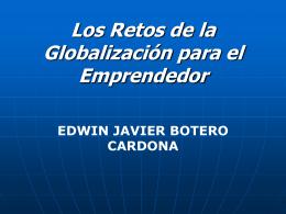 Los Retos de la Globalización para el Emprendedor
