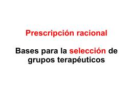 Diapositiva 1 - Departamento de Farmacología y Terapéutica