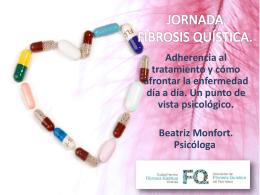 adherencia al tratamiento.beatriz monfort psicóloga a.valenciana fq
