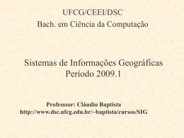 Unidade 1 - Computação UFCG