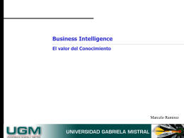 CRM Analítico Business Intelligence