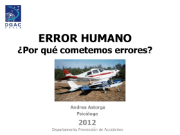 ERROR HUMANO - Club Aereo Los Angeles