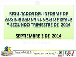 INFORME AUSTERIDAD EN EL GASTO (2)