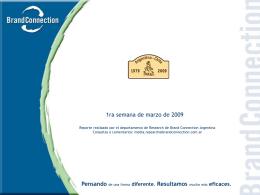 Slide 1 - Cámara Argentina de Agencias de Medios