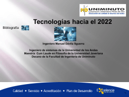 Tecnologías hacia el 2022