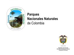 Resultados - Parques Nacionales de Colombia