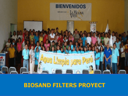 Peru - Clean Water Project