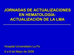 CFM en la caracterización de la LMA
