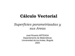 Integrales de Línea (cont.) y Superficies Parametrizadas