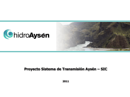 Presentación Trazado Línea HVDC - Departamento de Industria y
