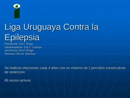 Nombre oficial del Capítulo local del país Directiva: