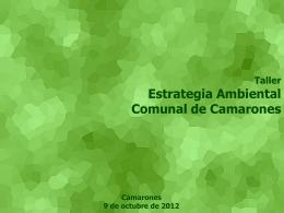 Diapositiva 1 - I. Municipalidad de Camarones