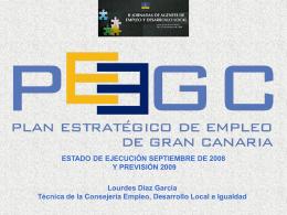 (Ejecución Plan Estratégico de Empleo de Gran Canaria).