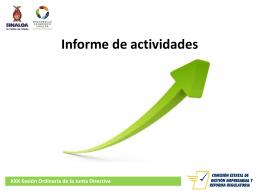 Enero -abril - Portal de Acceso a la Información