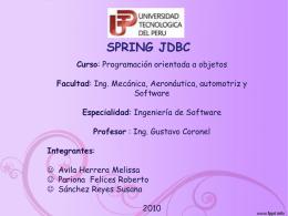 catch - Spring-JDBC