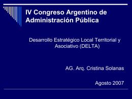 Solanas, Cristina - Asociación de Administradores Gubernamentales
