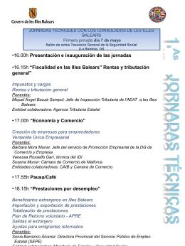 Diapositiva 1 - Govern de les Illes Balears