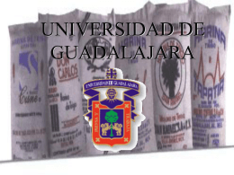 Presentación - Universidad de Guadalajara