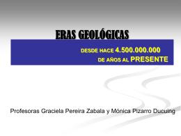 Evolución Geológica IINN