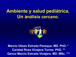 Indicadores en salud pediátrica y ambiental