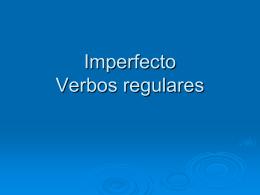 Imperfektin muodostus