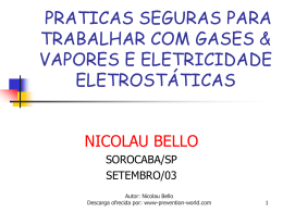 Eletricidade estática