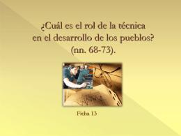 nn. 68-73 - Dottrina Sociale della Chiesa