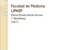Facultad de Medicina UPAEP
