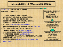 el arte hispanomusulmán: la mezquita de córdoba.