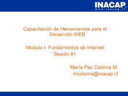 Capitulo 01 - Fundamentos de Internet
