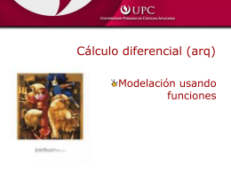 Modelación con funciones