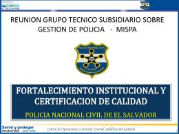 Centro de Operaciones y Servicio Central, Subdirección General