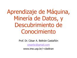 Minería de Datos - IME-USP