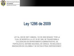 Ley_1286_2009_Colciencias