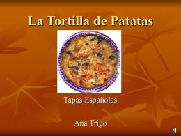 Ana Trigo - La tortilla española